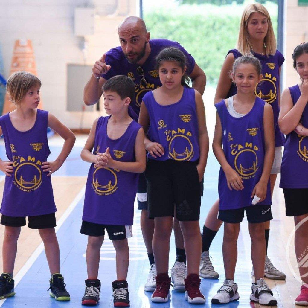 Campo estivo ragazzi basket-101basketsondrio